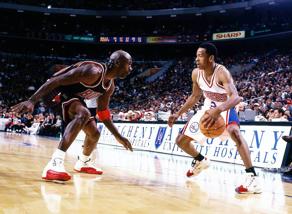 Michael Jordan y Iverson