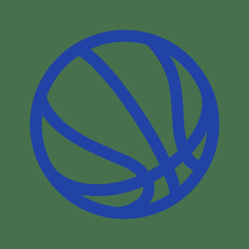 icono balón de baloncesto