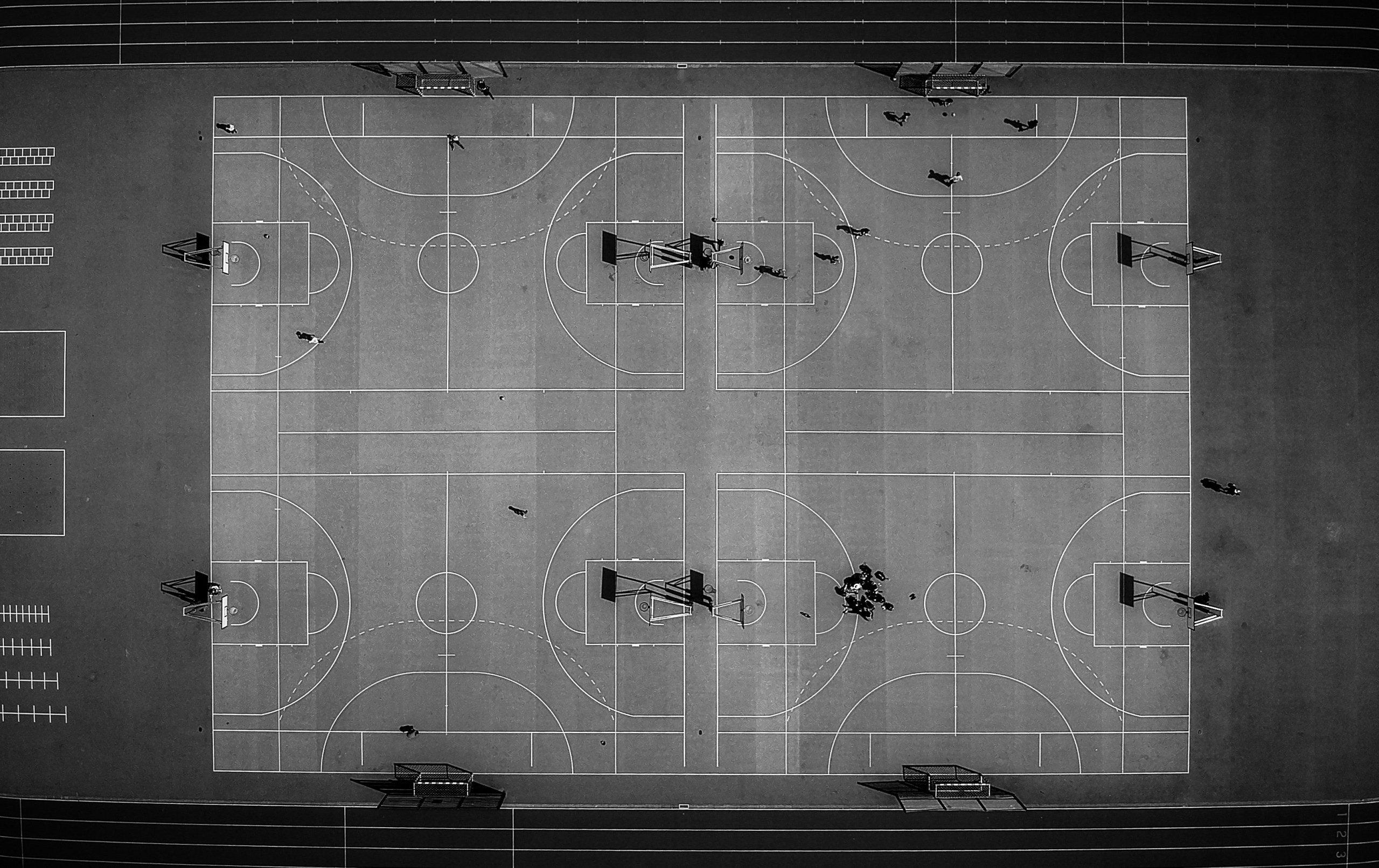fotos canchas de basket