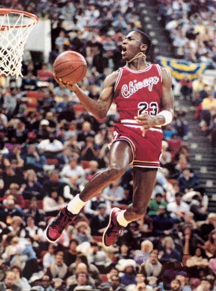Michael Jordan concurso de mates