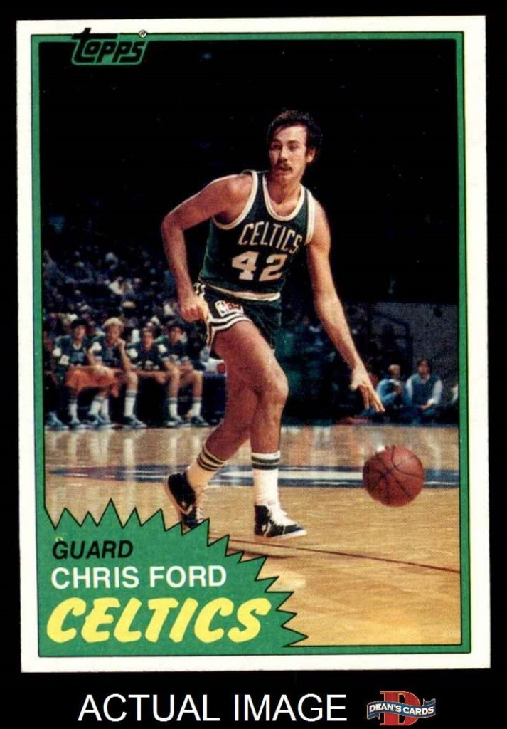 Crish Ford de los Boston Celtics